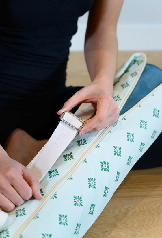 Mint Belem bag for yoga mat