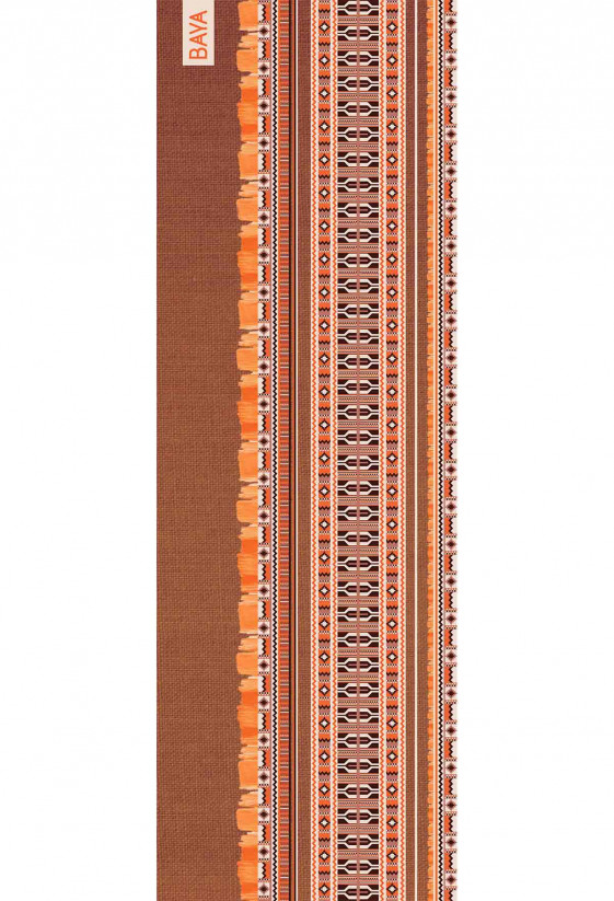 Tapis de yoga Kente