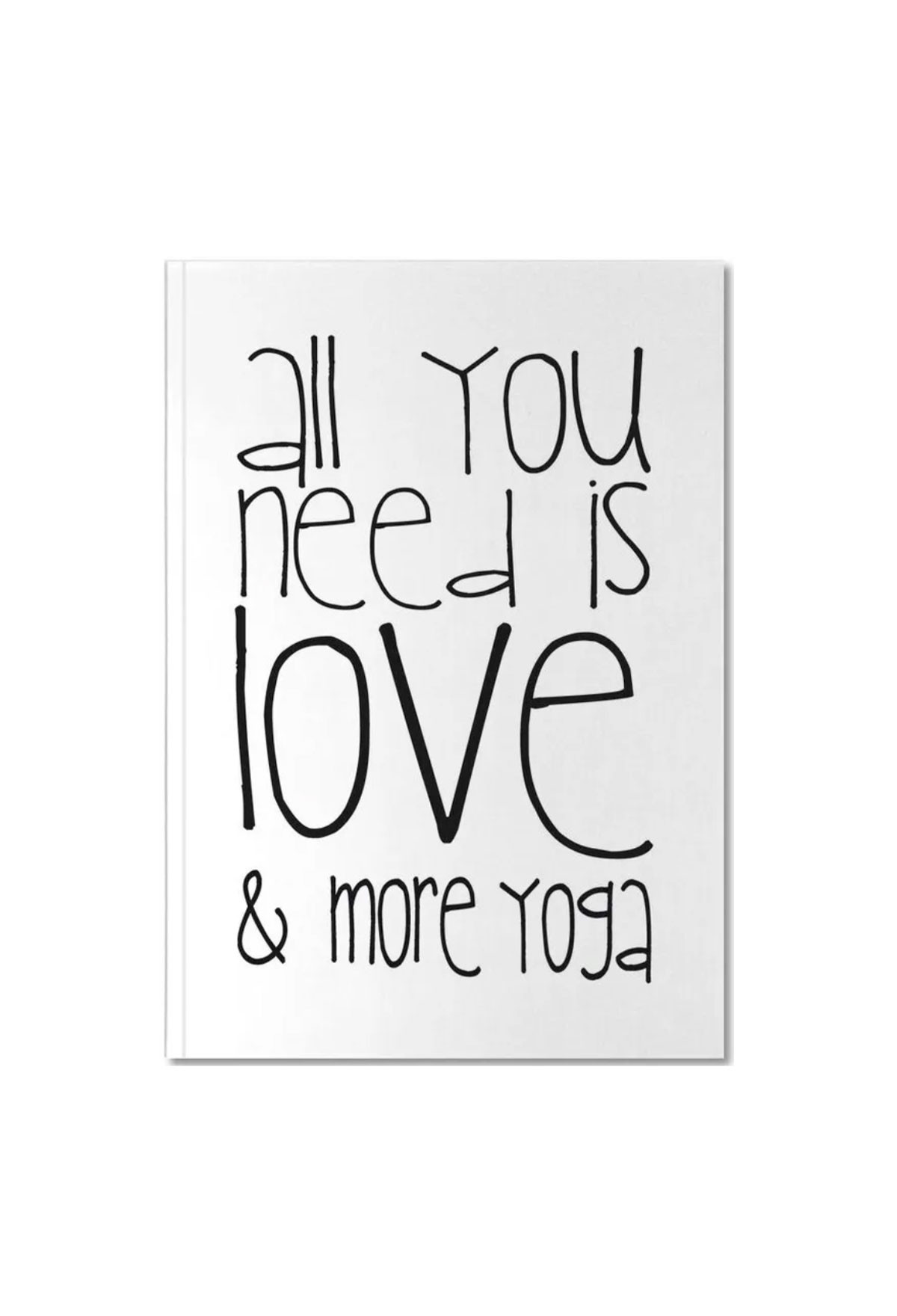 Carnet de notes - Love and Yoga
