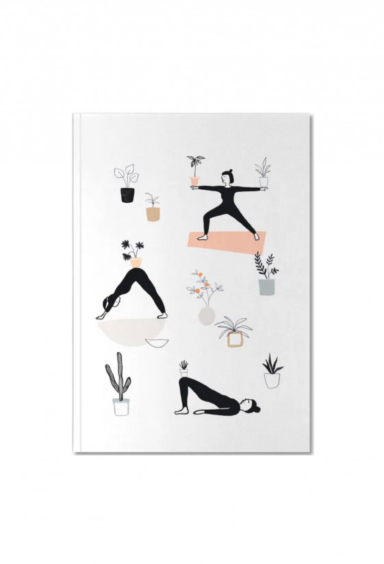 Notebook - Yoga with Plants