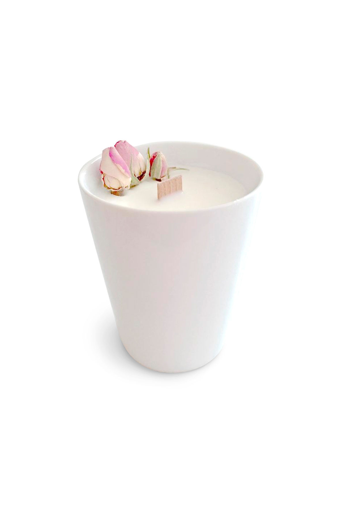 Floral candle - Rose - Small