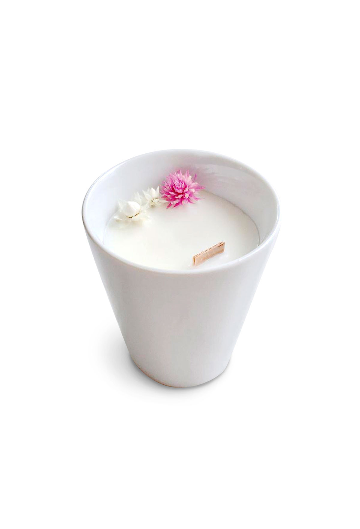 Floral candle - Jamine - Small