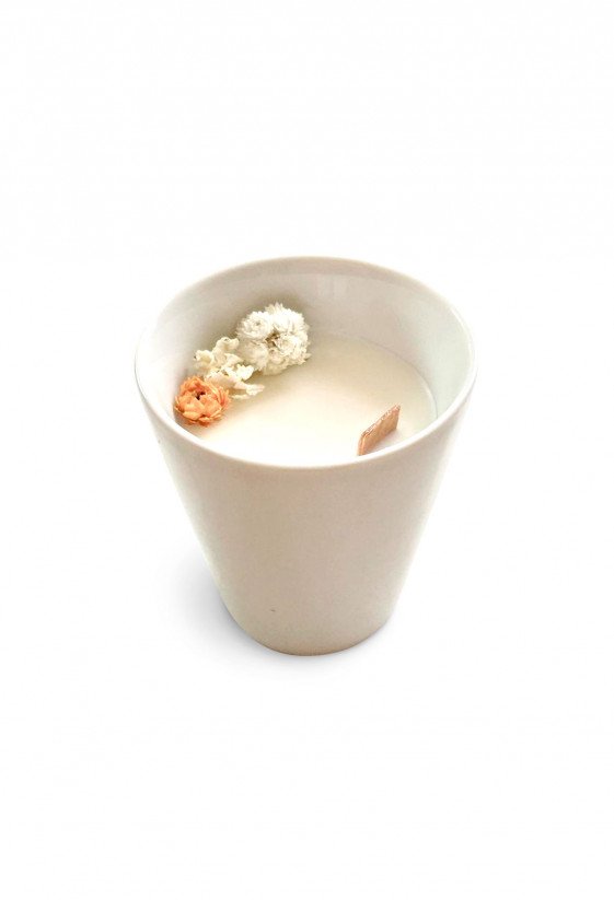 Floral candle - Orange Blossom - Small