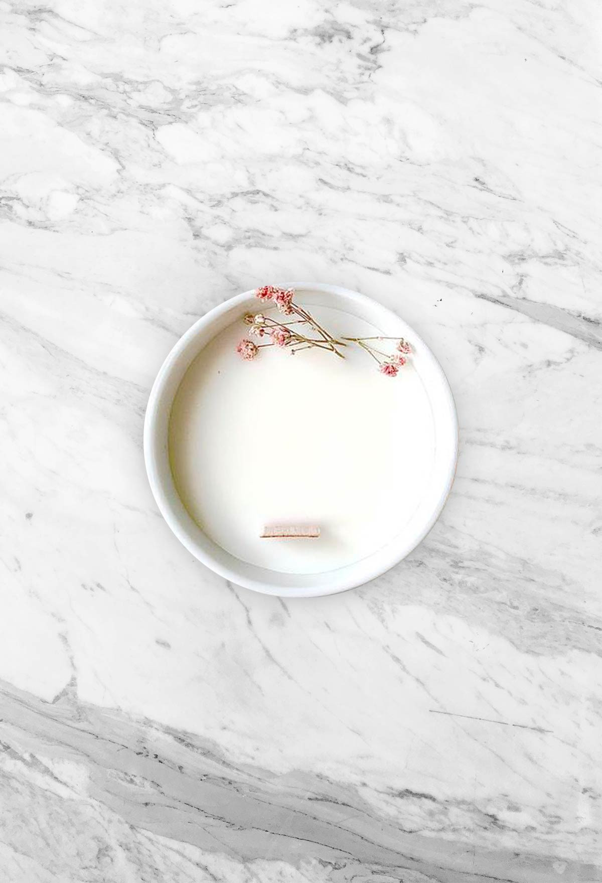 Floral candle - Geranium - Small