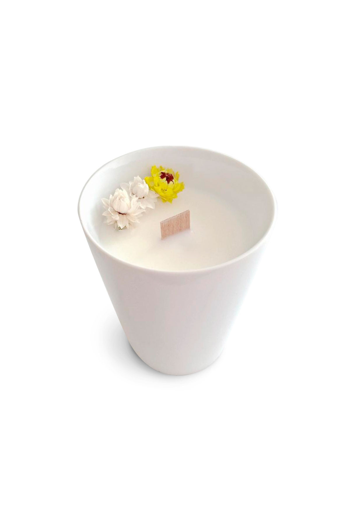 Floral candle - Peppermint - Small