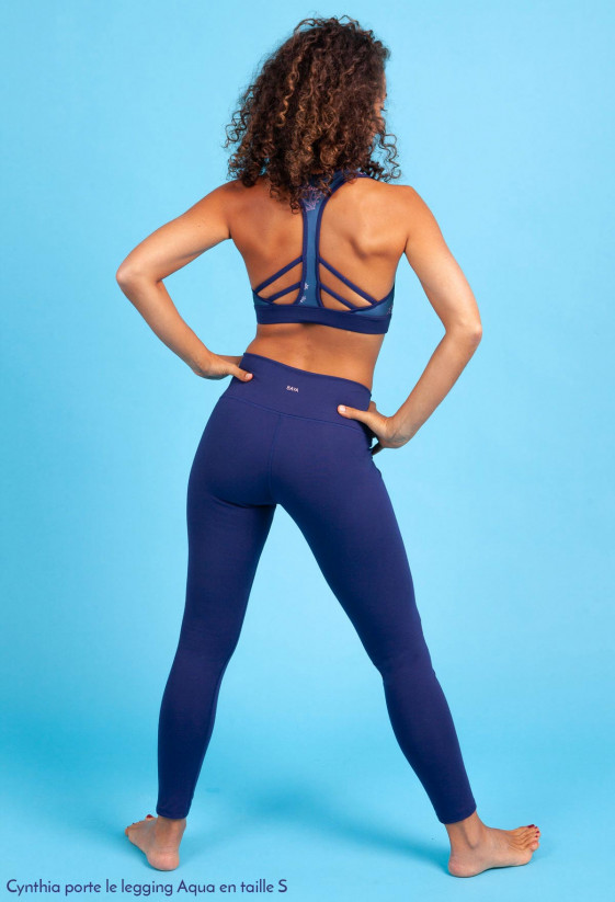 Legging Flow - Long - Aqua
